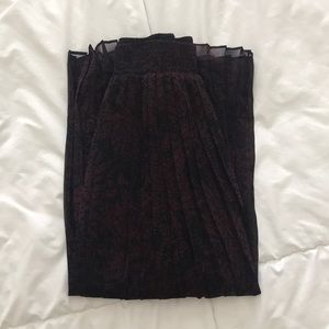 Who what wear pleated midi skirt